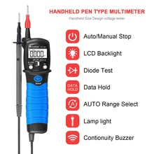 BTMETER BT-38C Pen Type Digital Portable Multimeter Multi-tester Handheld 6000 Counts for AC DC Voltage,Resistance,Capacitance