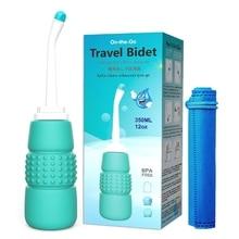 แบบพกพามือกด Bidet ทำความสะอาดกลางแจ้งขวดแพ็คเก็ต Body Flusher ซักผ้าสุขอนามัยส่วนบุคคลทำความสะอาด ...
