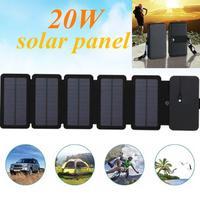 Зарядное устройство для солнечных батарей KERNUAP, 20 Вт, 5 В, 2,1 А