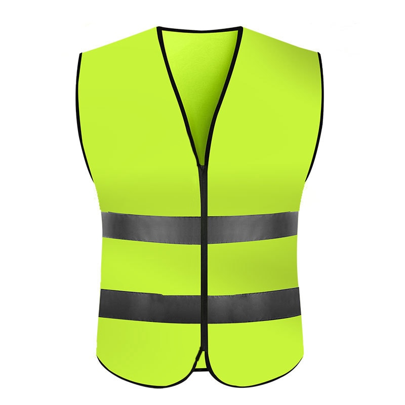 KAWOSEN Highlight Reflective Night Work Security Running Cycling Safety Vest High Visibility Jacket