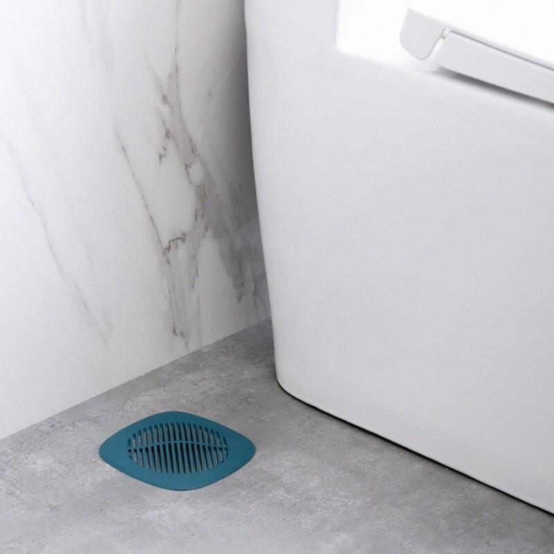 Desagüe de silicona receptor de pelo fregadero filtro colador cubierta de drenaje de ducha con 4 ventosas para el baño de la cocina