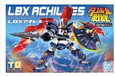 Оригинальный lbx 001 ACHILLES сборная фигурка игрушка маленький боевой робот модель