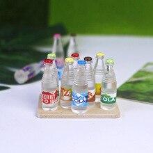Аксессуары для кукольного домика, бутылка для содового напитка, мини-содовая маленькие фигурки, домашний декор, дом этюда