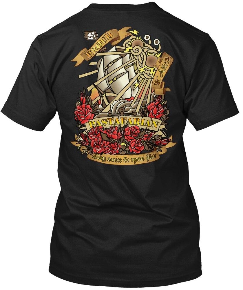 Camiseta de las mujeres de la USCA del Pirata pastafario de la camiseta de los hombres