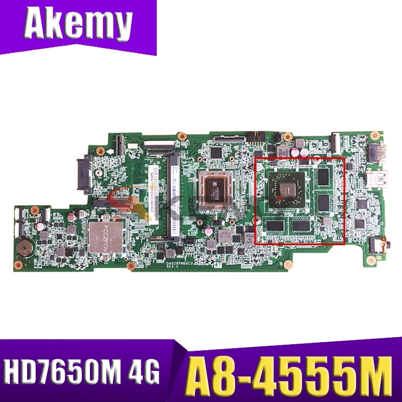 DA0ZRPMB6C0 para ACER ASPIRE V5-551 V5-551G placa base de computadora portátil NBM4711002...