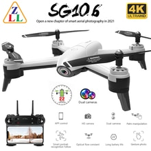 ZLL SG106 WiFi FPV RC Drone 4K Camera Optical Flow 1080P HD Dual Real Time Aerial Video Wide Angle Q