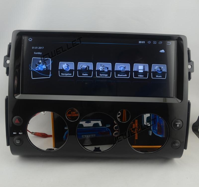 "12.3 ""Octa core Android 9,0 Auto GPS radio-Navigation für Toyota FJ Cruiser mit 4G/Wifi, DVR OBD"