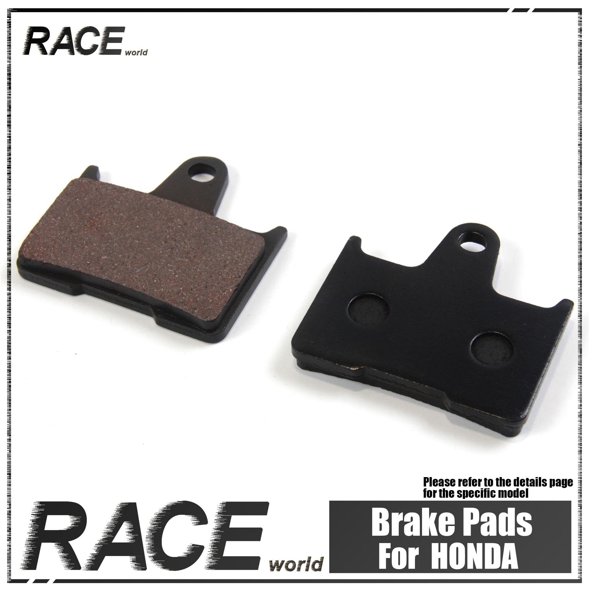 Motorcycles Front / Rear Brake Pads For HONDA CB400 SFX 1999 - 2003 'X4' CB 1300 DCV 1997 For MZ/MUZ 1000 SF 2005 - 2007