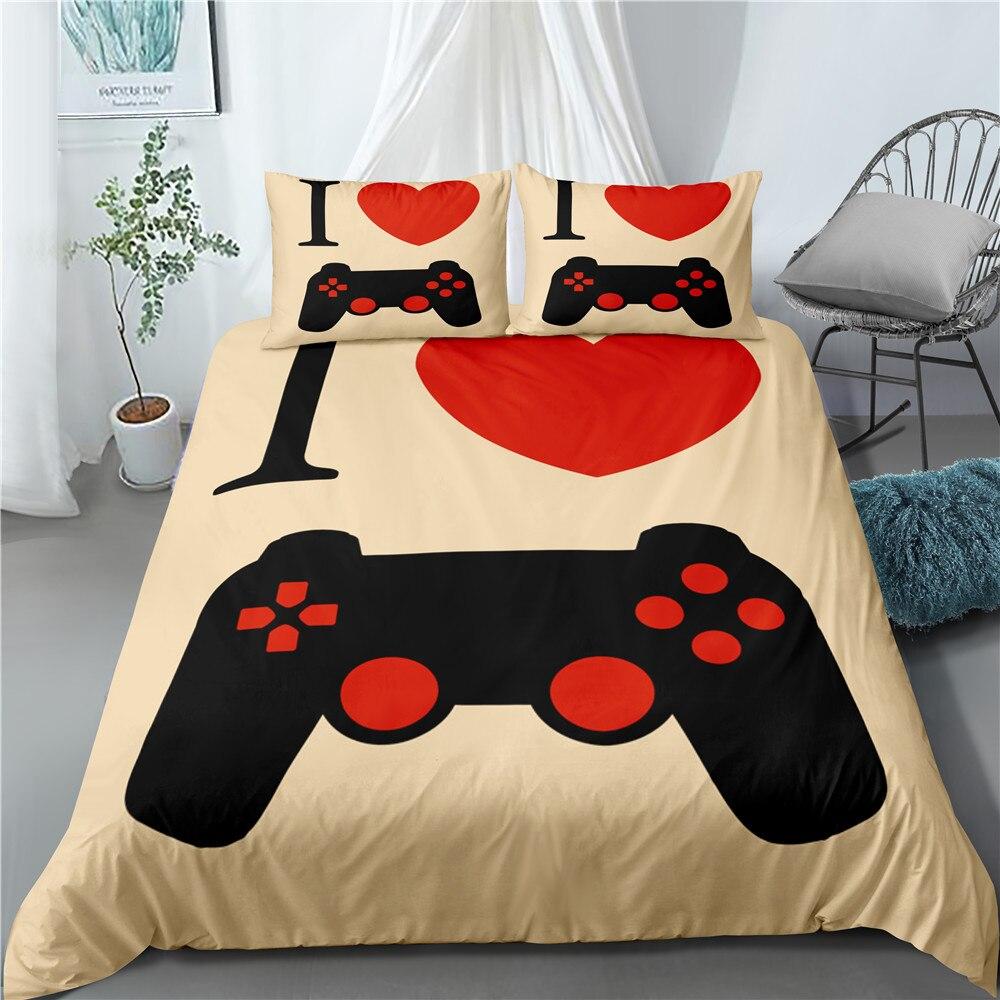 Cama individual de 172x218cm, cubierta de edredón, juego de cama con mango, funda de almohada con diseño de tres piezas, patrón personalizable