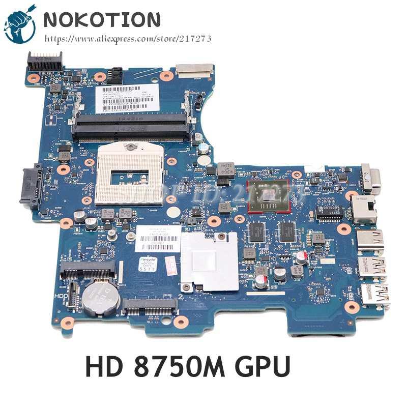 NOKOTION 743705-001 743705-501 743704-001 لإتش بي 242 G2 اللوحة المحمول DDR3 HD 8750M GPU 6050A2593301-MB-A02