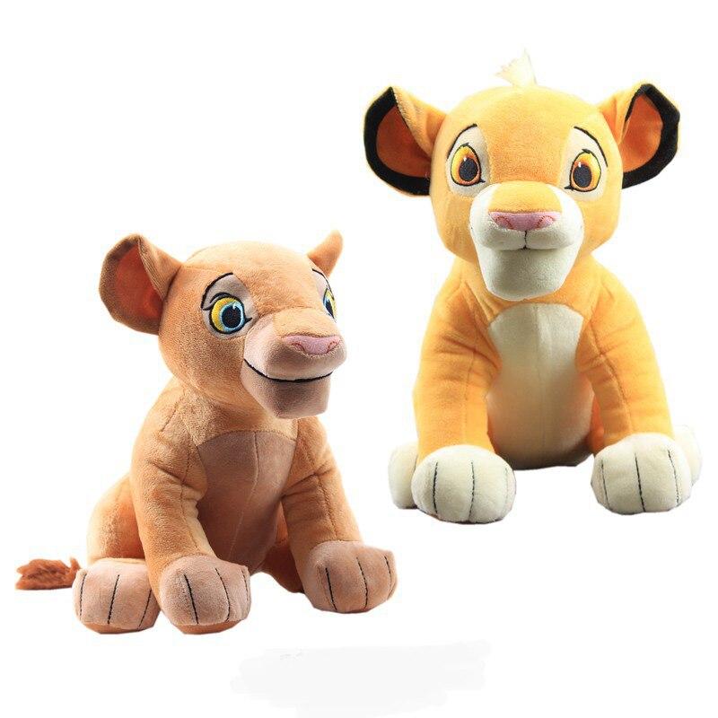 Король Лев Симба Нана плюшевые куклы игрушки фильм Симба Мягкие плюшевые животные игрушки детские подарки на день рождения Рождество