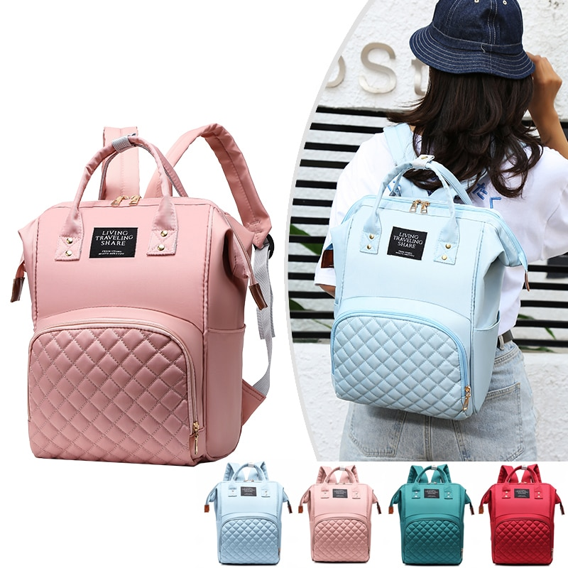 Diaper Bags Nappy Backpack Mummy Large Capacity Stroller Mom Baby Multi-Function Waterproof Outdoor Travel Maternity Bag mummy fashion large capacity stroller diaper backpack bag mom nappy multifunctional organizer bags maternity travel backpack