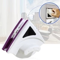 magnetic window wiper glass cleaner brush tool double side magnetic brush window glass brush for washing household cleaning tool