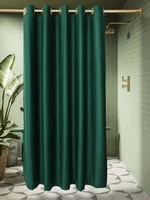 new roman hole velvet waterproof shower curtain partition curtains anti mildew cloth for home bathroom accessories customizable