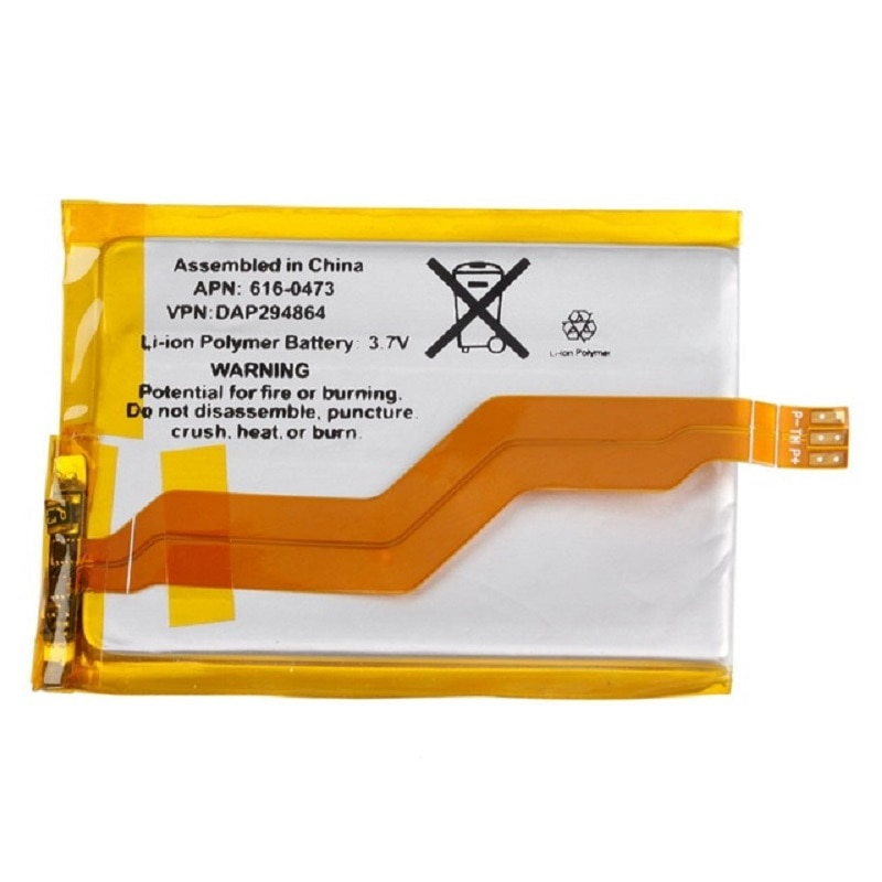 790mAh 616-0471, 616-0473 para Apple iPod Touch 3nd Gen 3G Touch3 Touch3G 3 batterie Batterij acumulador AKKU + herramienta de regalo