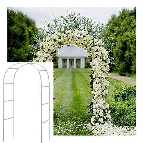 عرس قوس ديكور حديقة خلفية العريشة الحديد الوقوف زهرة الإطار للزواج حفل زفاف وعيد ميلاد الديكور لتقوم بها بنفسك قوس