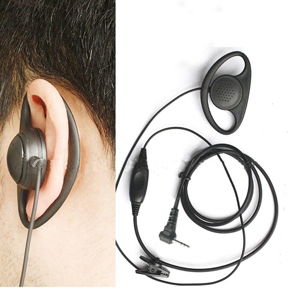 Walkie Talkie D shape Headset Earpiece Ear Hook Earphone T Type 2.5MM Earphone For Motorola T5320 5420 Hytera TC 310 320 1688 enlarge