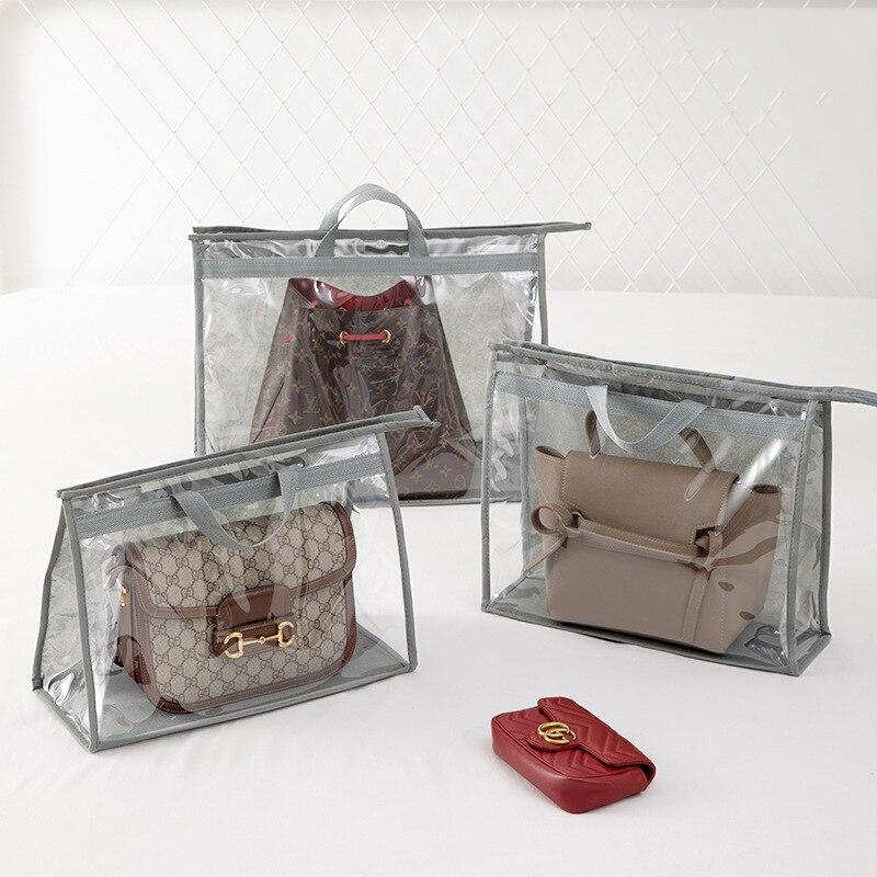 Bag Dustproof Wardrobe Hanging Storage PVC Transparent Waterproof Protection
