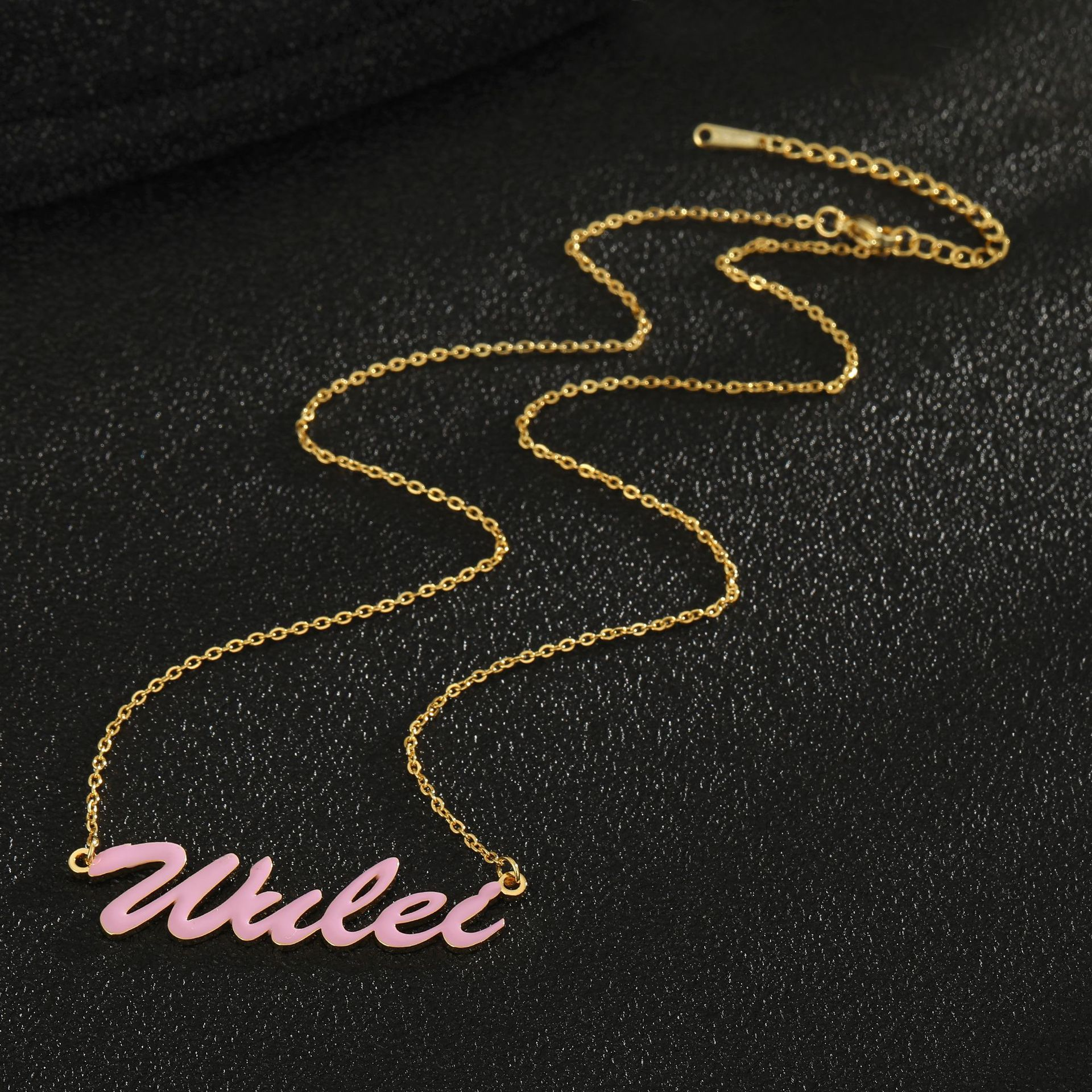 Браслеты с именем на заказ, цепочка с именем на заказ из 18-каратного золота, цепочка с буквами на заказ, браслет из нержавеющей стали, цепочка...