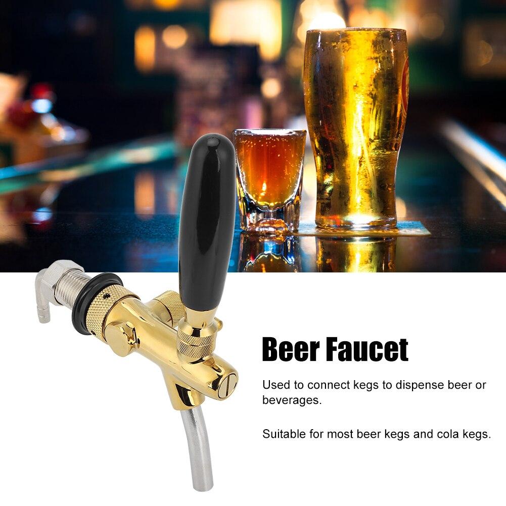 صنبور بيرة قابل للتعديل G5/8 ، لون برونزي ، معدات للمنزل ، بار ، مطاعم ، مسدس بيرة