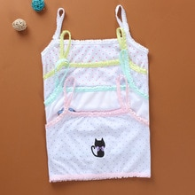 Young Girls Students Bra Solid Cotton Purbery Children teenagers Lace Underwear Kids Vest Training B