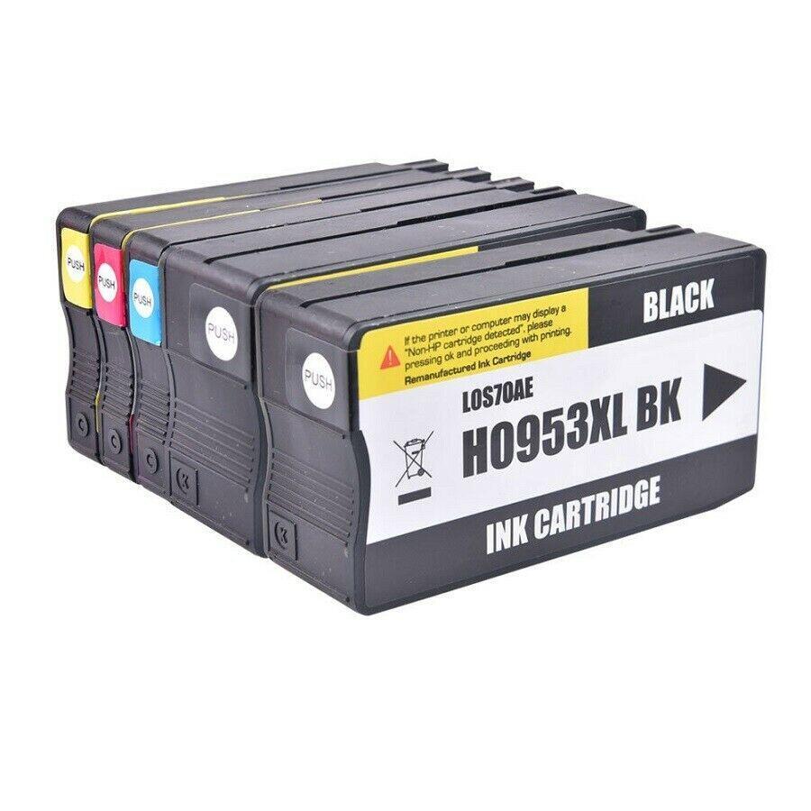 Compatível para HP 953XL 5PK Cartuchos de Tinta HP OfficeJet Pro 7740 8210 8710 8720 8725 8728 8730 8740 Printer