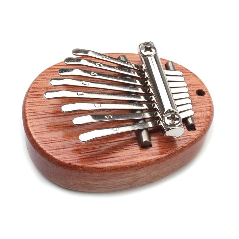 8 Key Mini Kalimba Exquisite Finger Thumb Piano Marimba Musical Good Accessory Pendant Gift Musical Instruments Keyboard