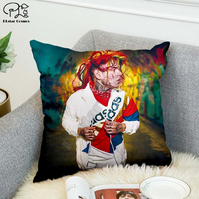 Чехол для подушки SInger 6IX9INE, полиэстеровый декоративный чехол для подушки, наволочка для подушки, украшение для дома, стиль-4