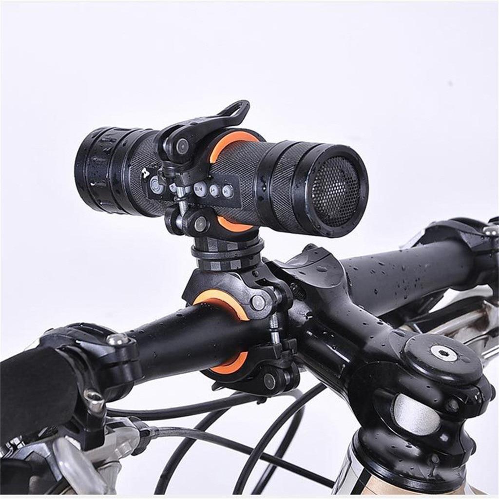 Soporte De montaje para linterna LED De bicicleta, 360 grados, lámpara para...