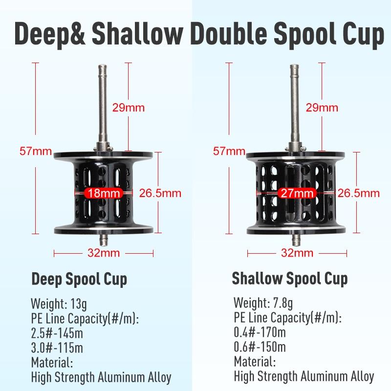 Kingdom New Silver Moon Baitcasting Reel Saltwater Ultralight Magnetic Brake System 5KG Max Drag 6.5:1 High Speed Fishing Reels enlarge