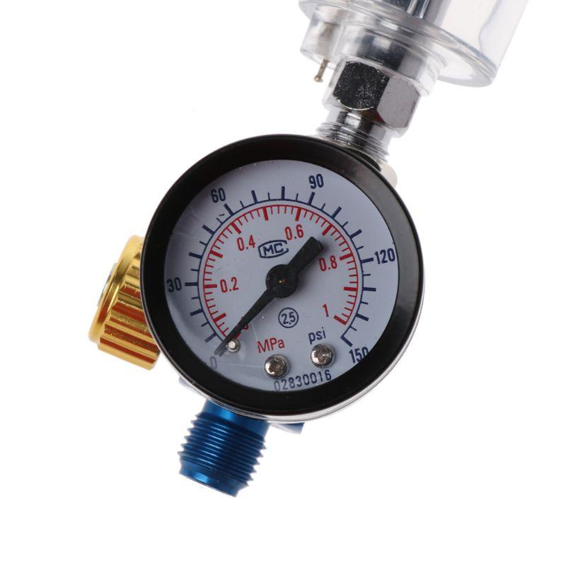 Miernik regulatora powietrza pistoletu natryskowego + filtr - Elektronarzędzia - Zdjęcie 6