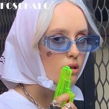 Rectangle Women Sunglasses 2020 Brand Designer Retro Sunglasses Vintage Steampunk Sunglasses Female