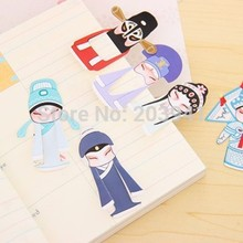 1pcs/pack Watching Big Play Bookmarks Novelty Book Reading Gift For Students Stationery Tab For Book