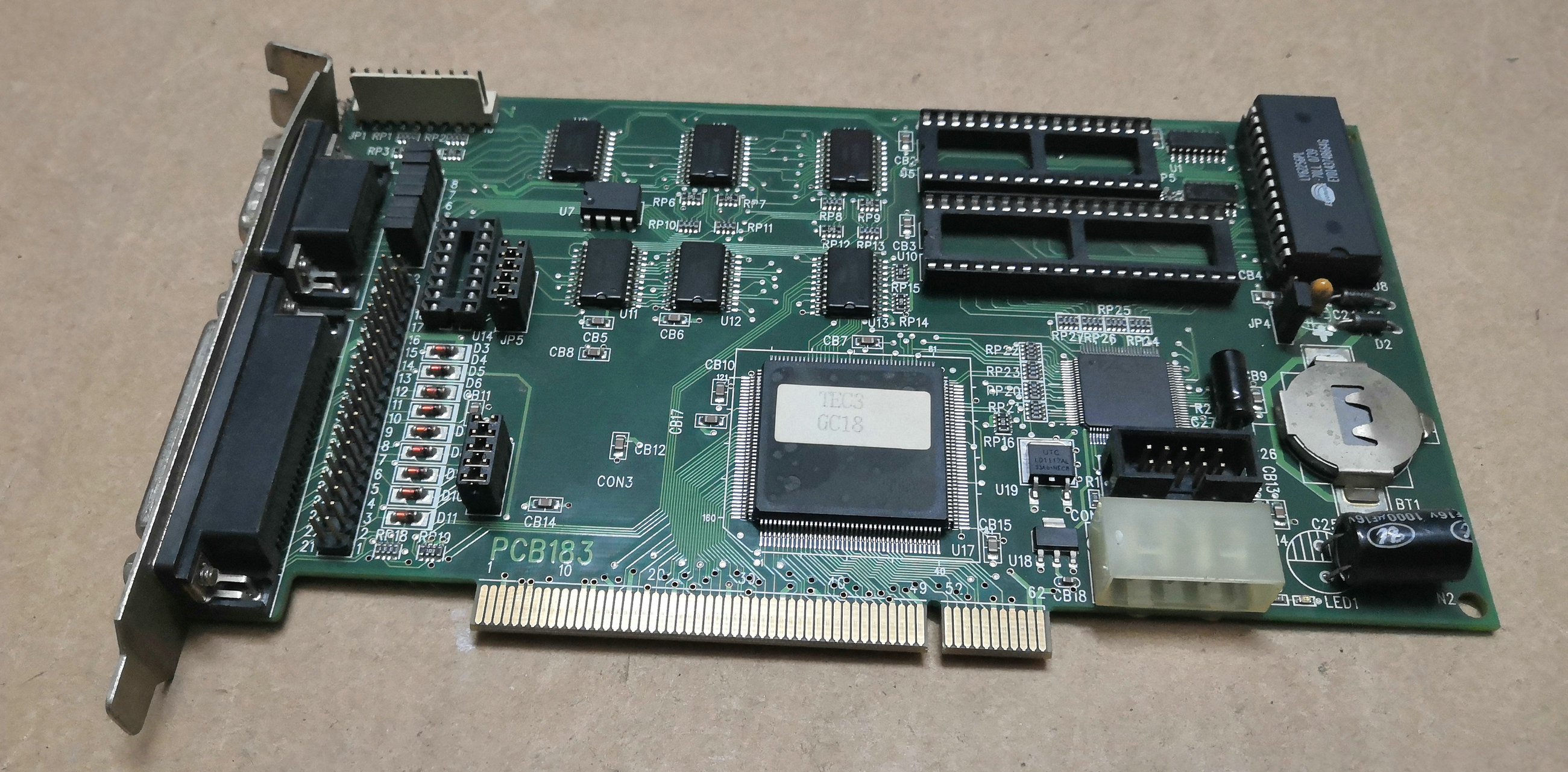 TEC4 GC18 tarjeta PCB183