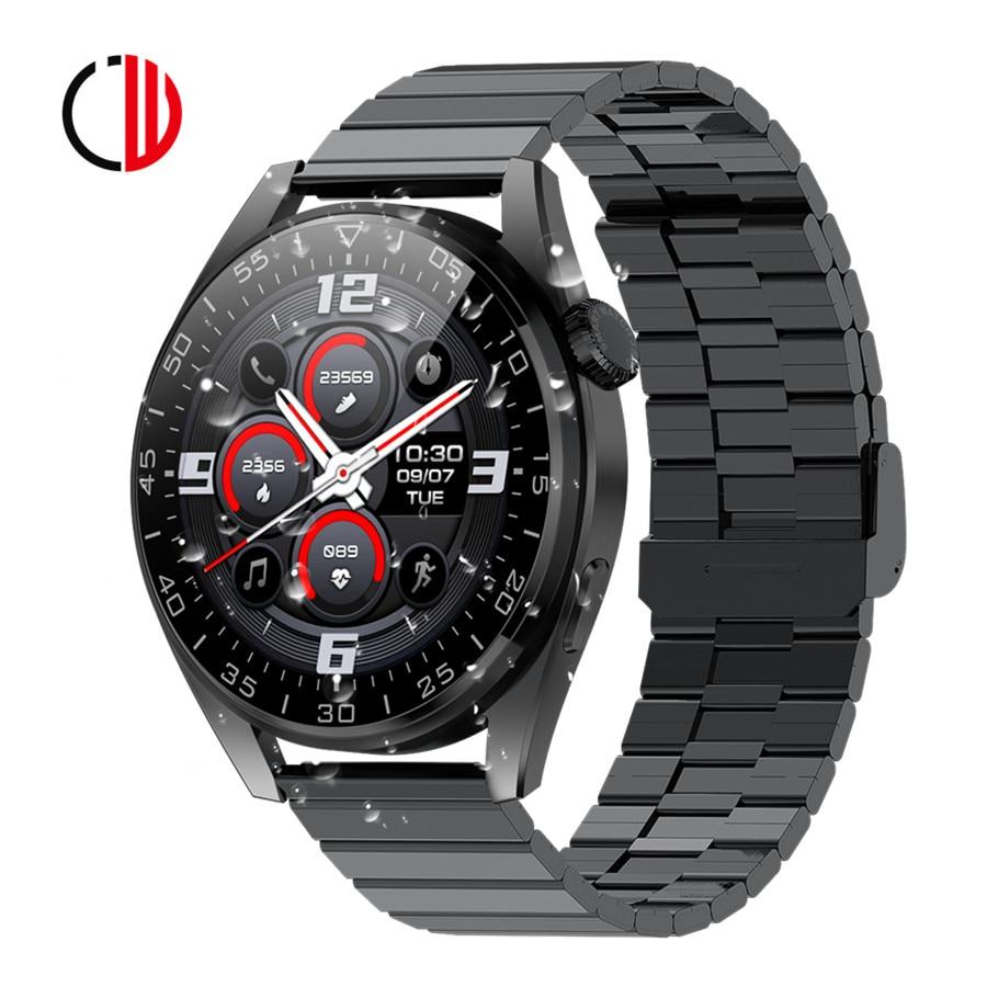 CZJW 2021 NEW Smart Watches Men Bluetooth Call Blood Pressure Measure Fitness Tracker Smartwatch Wat