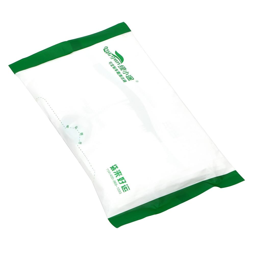 Contenedor de basura con bolsa de basura impermeable autoadhesiva bolsa de basura automática a prueba de fugas accesorios de coche almacenamiento de basura 15 unids/pack