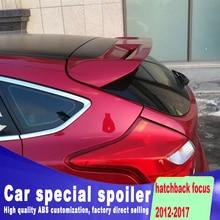 new design Stable type big spoiler for ford focus hatchback 2012 2013 2014 2015 2016 2017 by primer or DIY paint color focus