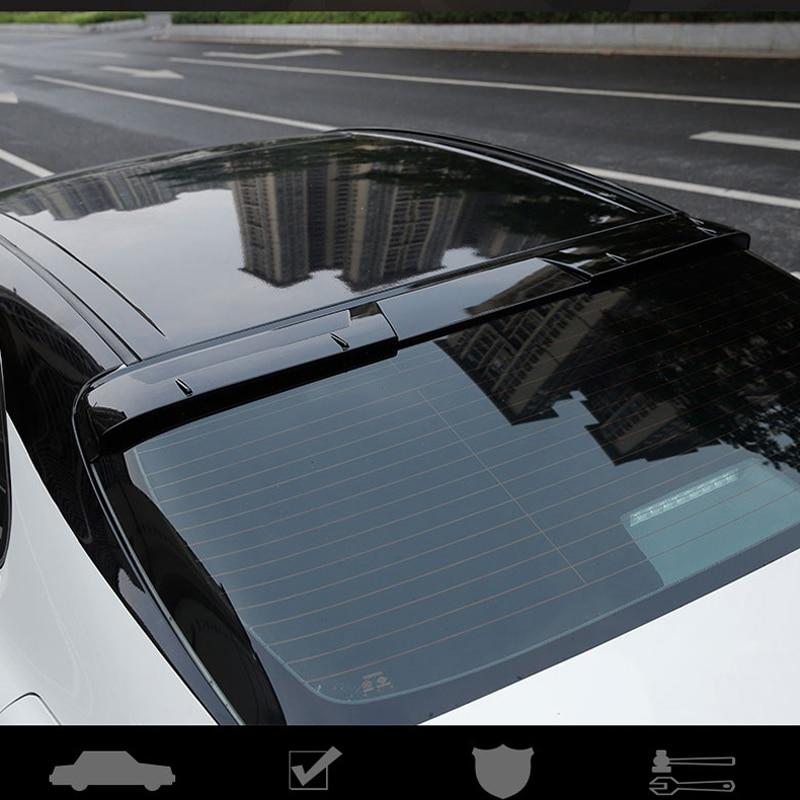 قطع غيار السيارات لتويوتا كامري سبويلر 2018 2019 ABS البلاستيك أسود اللون الخلفي التمهيد الجذع الجناح جناح خلفي للسقف اكسسوارات السيارات