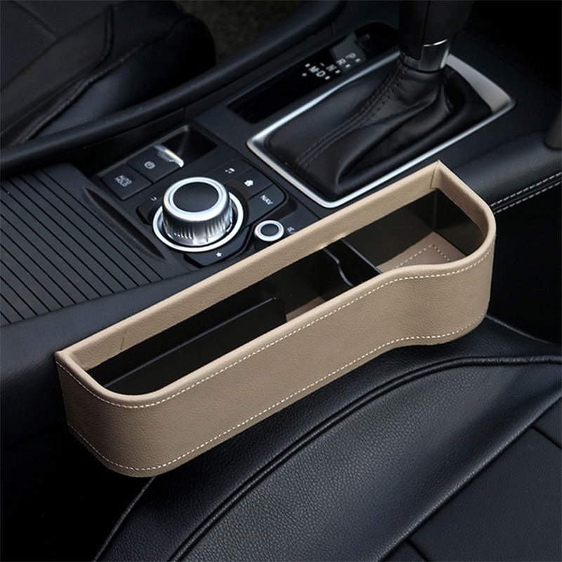 AliExpress - Leather Car Seat Organizer Holder Organizer Multifunctional Auto Seat Gap Storage Box ABS Seat Seam Pockets Trunk Organizer