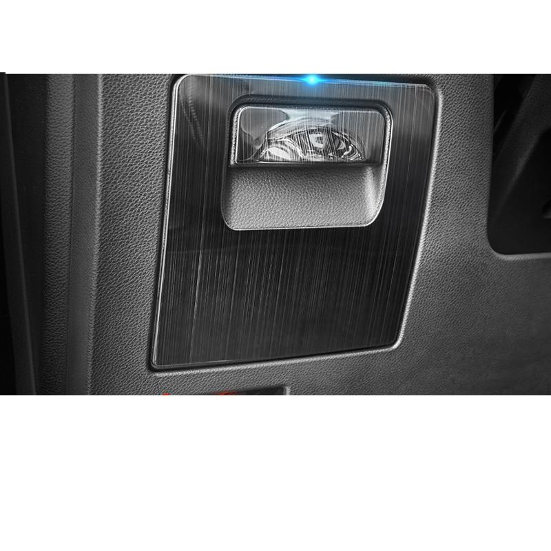 Lsrtw2017 para Trumpchi GS5, Panel de caja de almacenamiento lateral del conductor del coche, adornos decorativos para molduras interiores, accesorios 2019 2020 gac