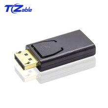 Port daffichage vers adaptateur HDMI DisplayPort vers HDMI convertisseurs mâle vers femelle Transmission de synchronisation Audio et vidéo 1080P