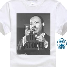Bébé garçon Martin Luther roi discours idée cadeau 2018 mode court col rond T-Shirt plus récent Cool grand rabais 015221