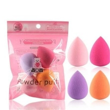 4Pcs Women Makeup Sponge Puff Makeup Tool Beauty Egg Face Foundation Powder Cream Sponges Cosmetic P
