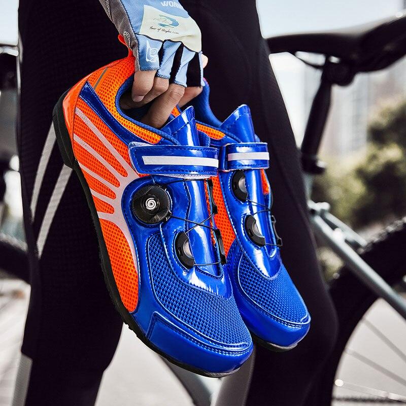 Cycling shoes sapatilha ciclismo MTB Non-lock sport ultralight road bike mountain bike men Sneakers women non-slip Sports Shoes