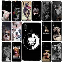 Babaite أسود أبيض حفرة الثور جميل كلب بيتبول قضية الهاتف ل شاومي Redmi8 4X 6A S2 الذهاب Redmi 5 5 زائد نوت 8t نوت 8pro