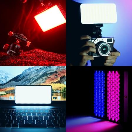 Ulanzi VIJIM VL196 RGB LED Video Light 12W PD Fast Charging DSLR Smartphone Fill Light Dimmable RGB Effect Vlog Light On Camera
