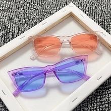 2021 New Cat Eye Sunglasses For Women Fashion Rectangle Sun Glasses Luxury Brand Designer Retro Suns