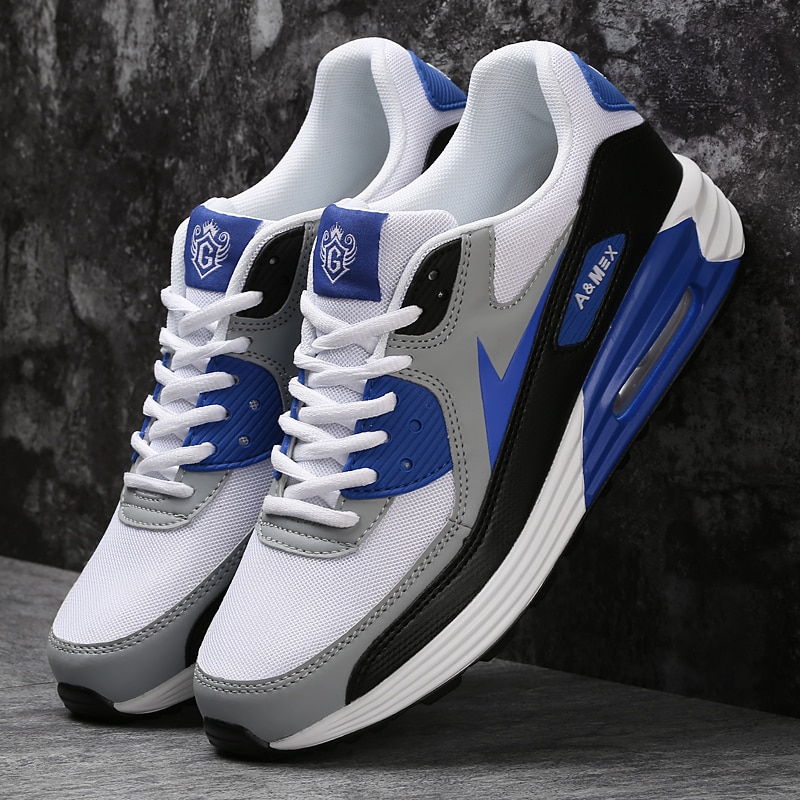 2020 Air Cushion Men's sneakers Casual Breathable Shoes Running Sports Shoes (Size 38-46)
