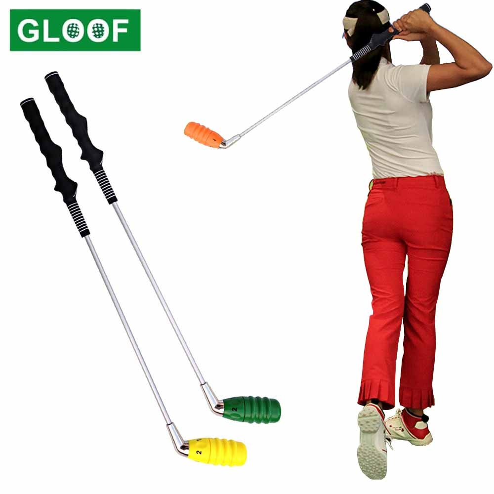 Golf Tempo Grip Swing Trainer Adjustable Difficulty Configuration Options Right-Handed for Distance Rhythm Tempo Accuracy