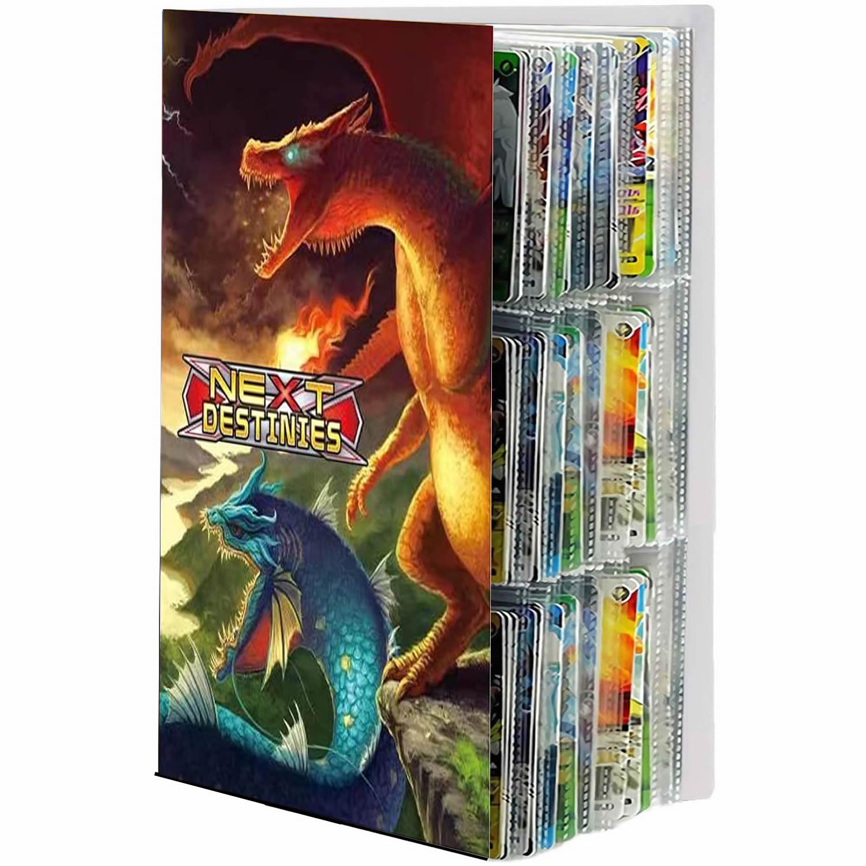 432 Cards Collections Holder 9 Pocket Pokemon Album Book Playing Game Map Card Album Folder Binder T